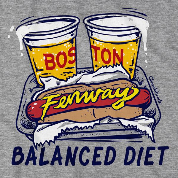 Balanced Diet T-Shirt - Chowdaheadz