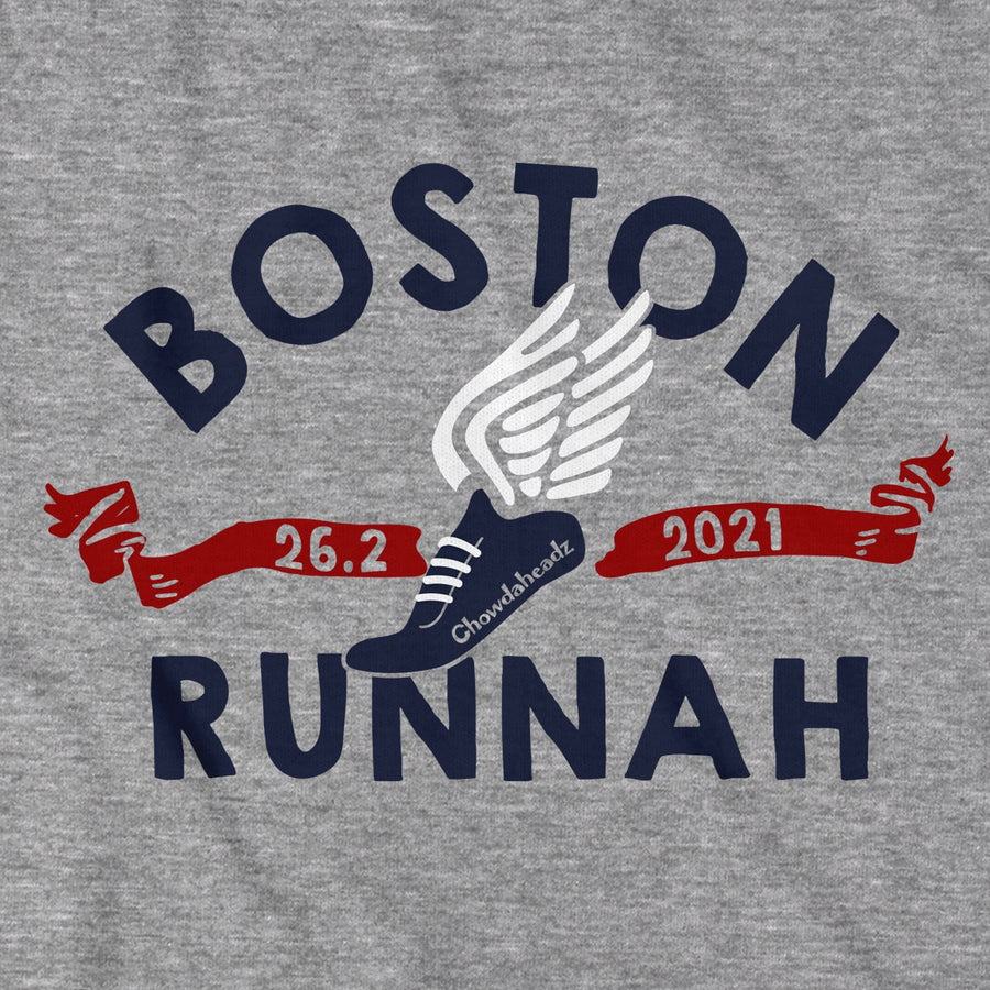 Boston Runnah T-Shirt - Chowdaheadz