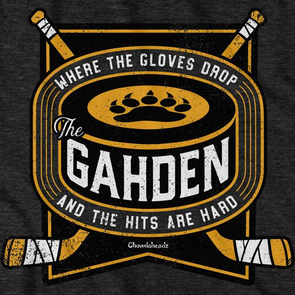 The Gahden Drop & Hard Hockey T-Shirt - Chowdaheadz