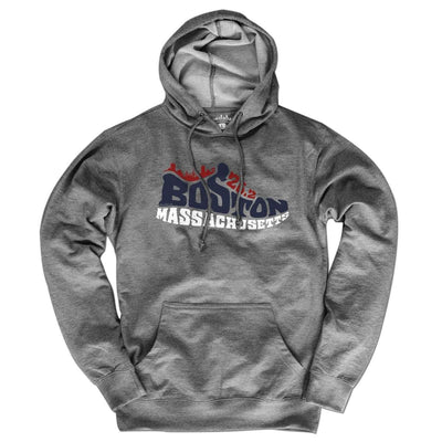 Boston Mass 26.2 Sneaker Lightweight Hoodie - Chowdaheadz