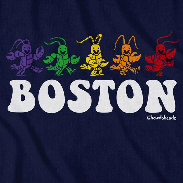 Boston Dancing Lobstahs T-shirt - Chowdaheadz