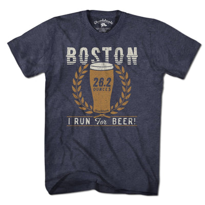 Boston 26.2 Ounces T-Shirt - Chowdaheadz