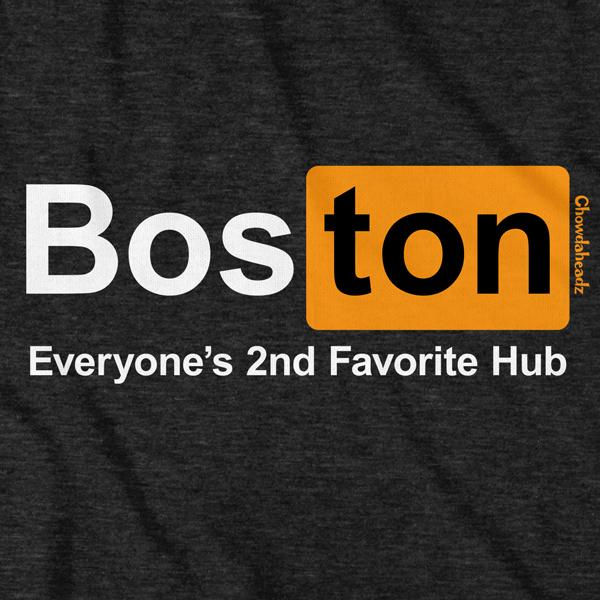 Boston Hub T-Shirt - Chowdaheadz
