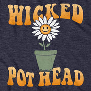 Wicked Flower Pot Head T-shirt - Chowdaheadz