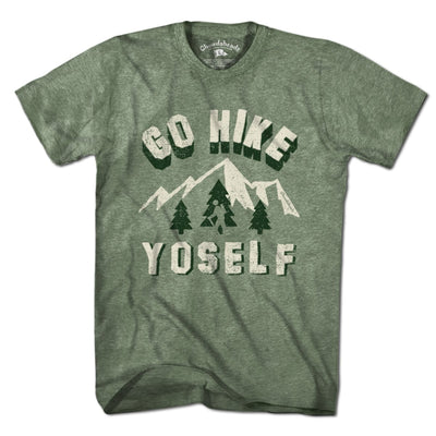 Go Hike Yoself T-Shirt - Chowdaheadz