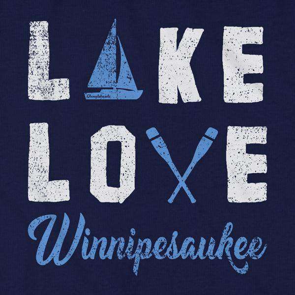 Lake Love Winnipesaukee T-Shirt - Chowdaheadz