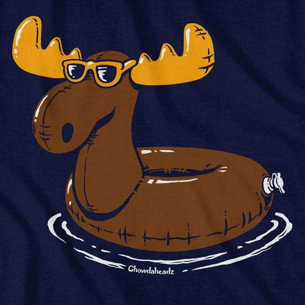 Moose Float T-Shirt - Chowdaheadz