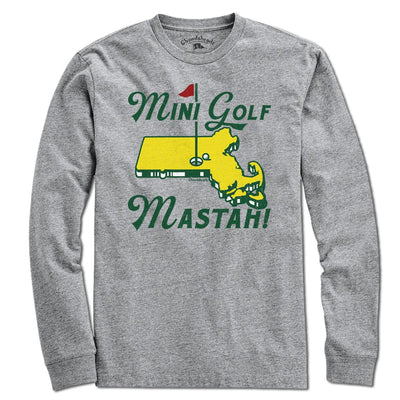 Mini Golf Mastah T-Shirt - Chowdaheadz