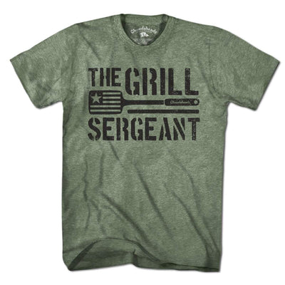 The Grill Sergeant T-Shirt - Chowdaheadz