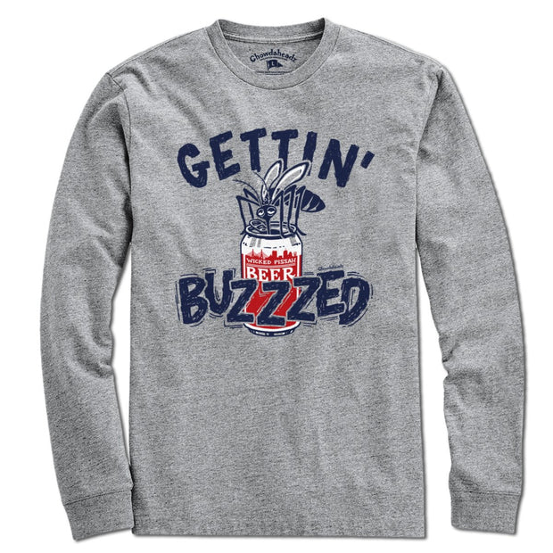 Gettin' Buzzzed T-Shirt - Chowdaheadz
