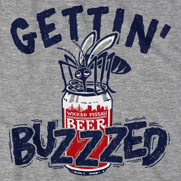 Gettin' Buzzzed T-Shirt