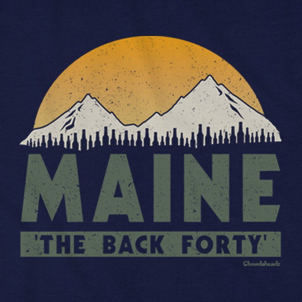 Maine 'The Back Forty' T-Shirt - Chowdaheadz