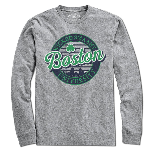 Boston Wicked Smaaht Gameday T-shirt - Chowdaheadz