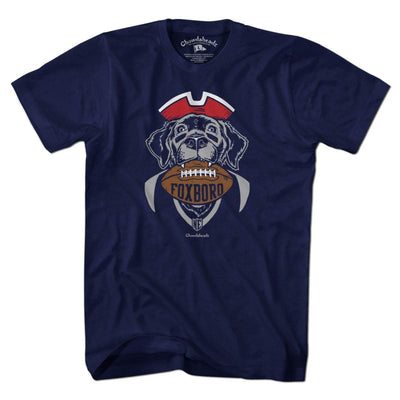 Foxboro Football Dog T-Shirt - Chowdaheadz