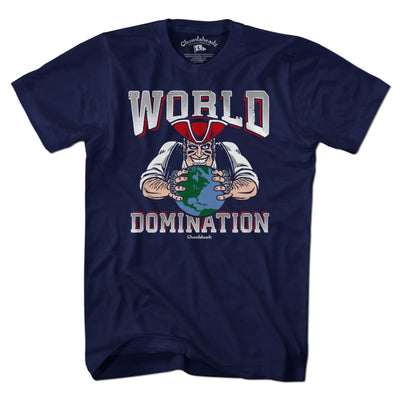 New England World Domination T-Shirt - Chowdaheadz