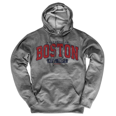 Property of Boston Lightweight Hoodie - Chowdaheadz