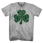 Wicked Awesome Shamrock T-Shirt - Chowdaheadz