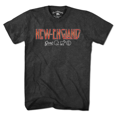 New England Rocks T-Shirt - Chowdaheadz