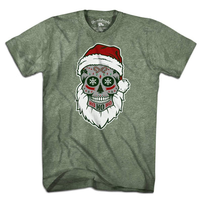 St. Nick Dead Head Holiday T-Shirt - Chowdaheadz