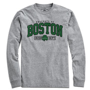 Property of Boston Irish Dept. T-Shirt - Chowdaheadz