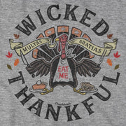 Wicked Thankful Turkey T-Shirt - Chowdaheadz