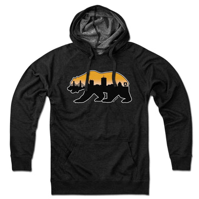 Boston Bear Skyline Lightweight Hoodie - Chowdaheadz