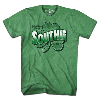 Greetings From Southie T-Shirt - Chowdaheadz