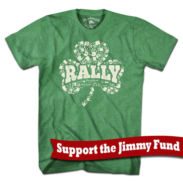 Jimmy Fund Rally Shamrock T-Shirt - Chowdaheadz