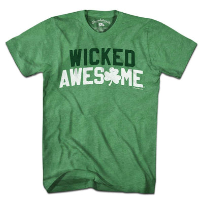 Wicked Awesome Shamrock Arch T-Shirt - Chowdaheadz