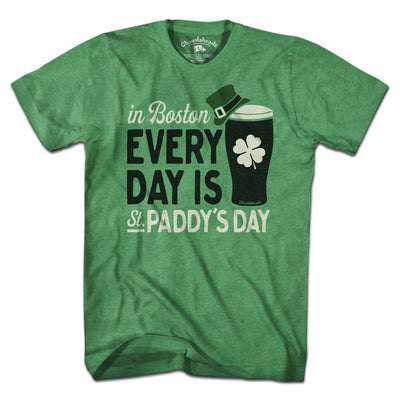 Every Day is St. Paddy's Day T-Shirt - Chowdaheadz
