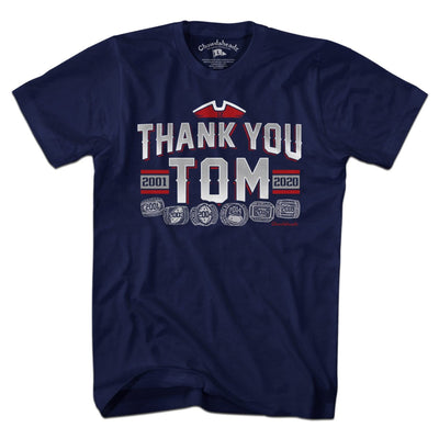 Thank You Tom T-Shirt - Chowdaheadz