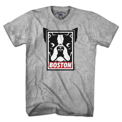 Boston Terrier Frame T-Shirt - Chowdaheadz