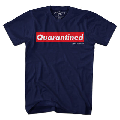 Quarantined Official T-Shirt - Chowdaheadz