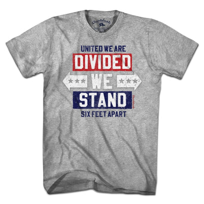 Divided We Stand T-Shirt - Chowdaheadz