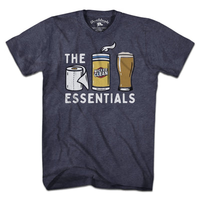 Beer Essentials T-Shirt - Chowdaheadz