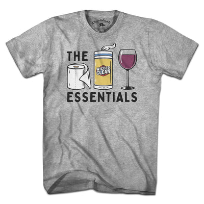 Wine Essentials T-Shirt - Chowdaheadz