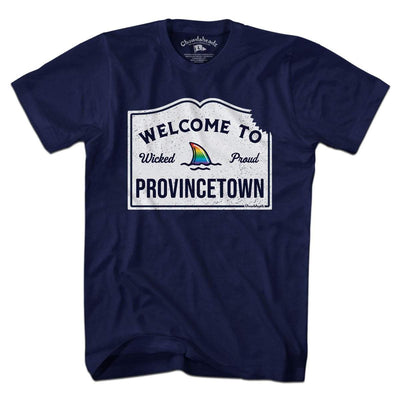 Welcome to Provincetown T-Shirt - Chowdaheadz