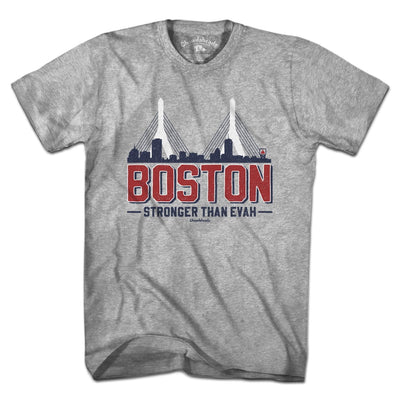 Boston Stronger Than Evah T-Shirt - Chowdaheadz