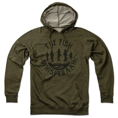 The Fish Whisperaah Lightweight Hoodie - Chowdaheadz