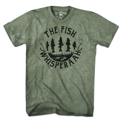 The Fish Whisperaah T-Shirt - Chowdaheadz