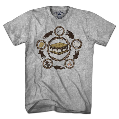 S'more Recipe T-Shirt - Chowdaheadz
