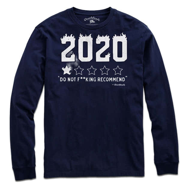 2020 Not Recommended T-Shirt 1