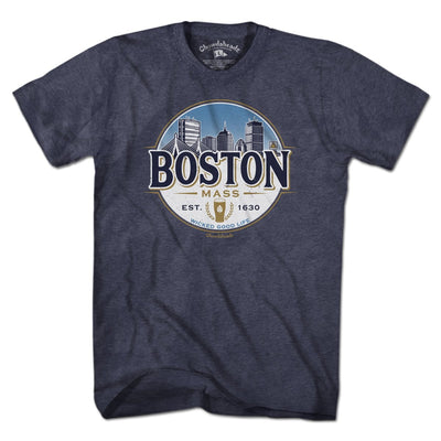 Boston Beer Label T-Shirt - Chowdaheadz