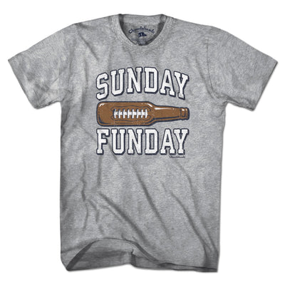 Sunday Funday Footbottle T-Shirt - Chowdaheadz