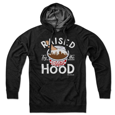 Raised by the Hood Lightweight Hoodie - Chowdaheadz
