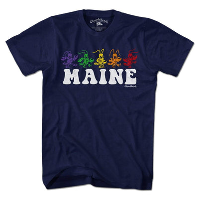 Maine Dancing Lobstahs T-shirt - Chowdaheadz