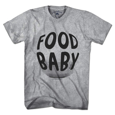 Food Baby T-Shirt - Chowdaheadz