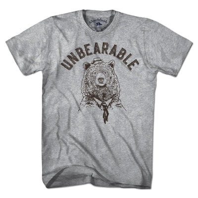 Unbearable T-Shirt - Chowdaheadz
