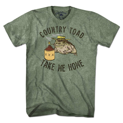 Country Toad T-Shirt - Chowdaheadz