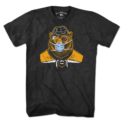 Hockey Mask Bear T-Shirt - Chowdaheadz